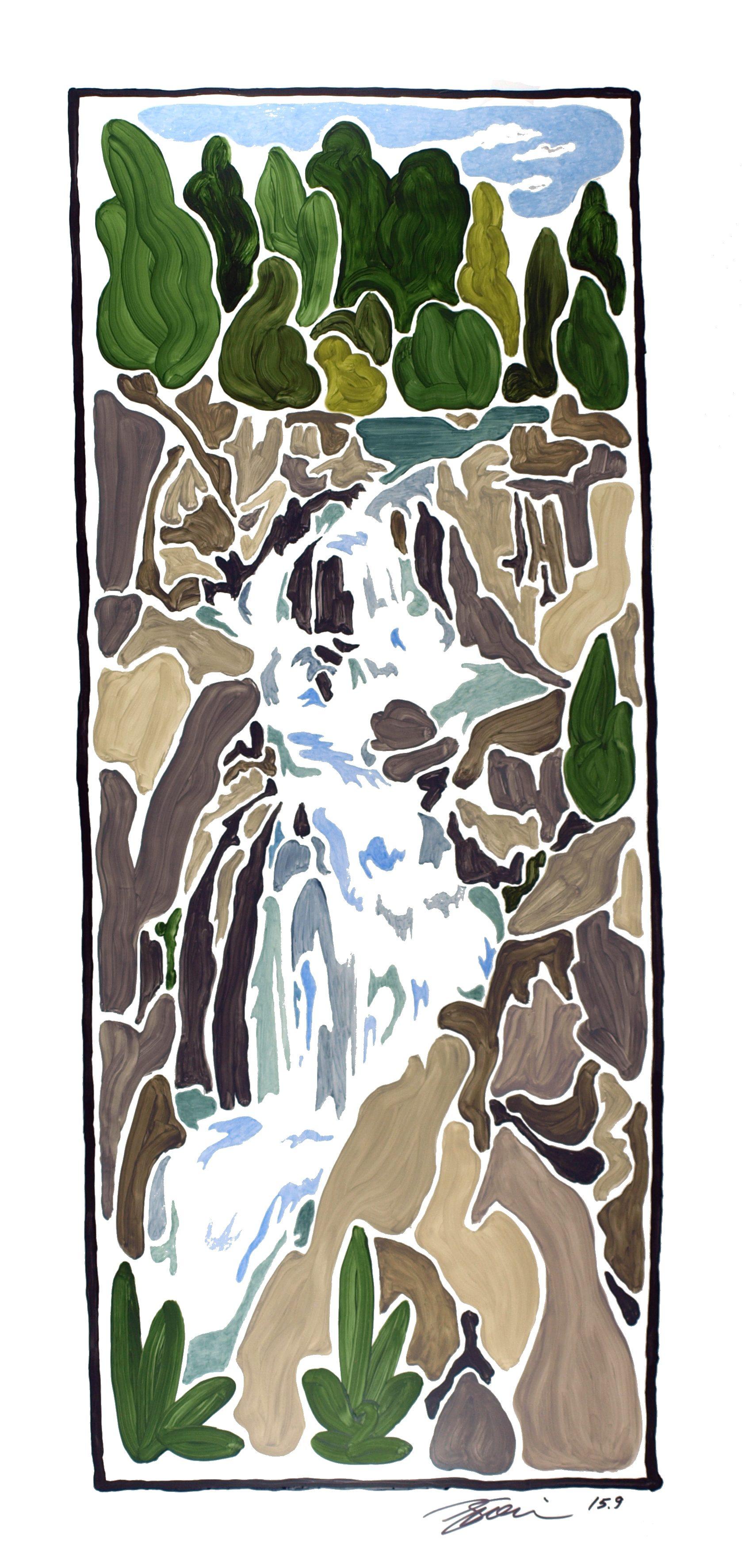 Rudy Guernica - Cabin John Tributary II