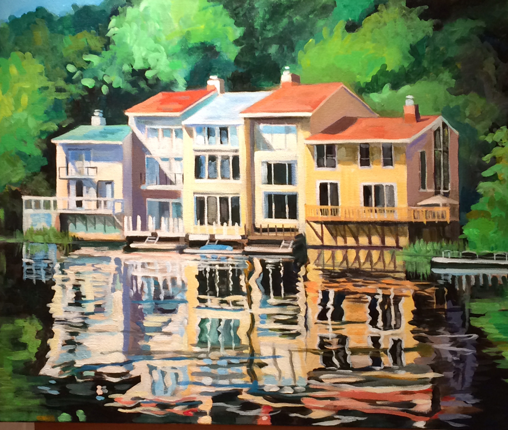 Karen Dannenberger - Waterview, Lake Anne