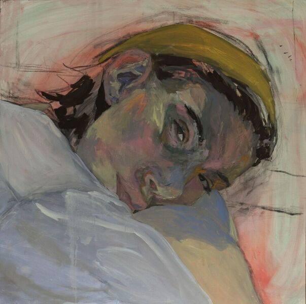 Painting by Klara Vertes, 2017 LRA award