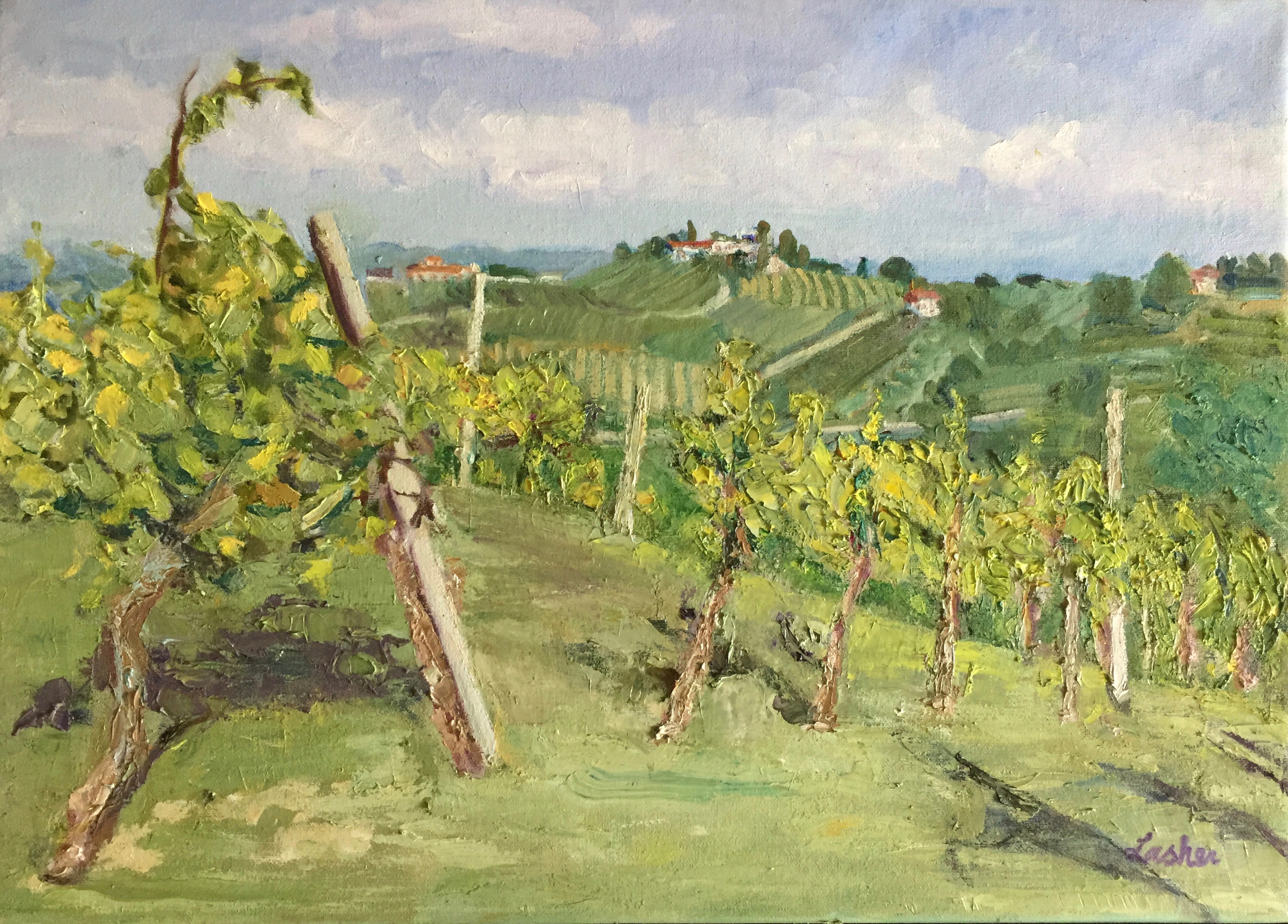 Norma Lasher, Italian Vineyard